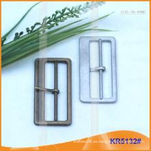 Tamaño interior 48mm Hebillas de metal para zapatos, bolsa o cinturón KR5132