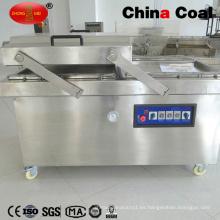 Máquina de envasado al vacío de alimentos de cámara doble Dz600-2sb