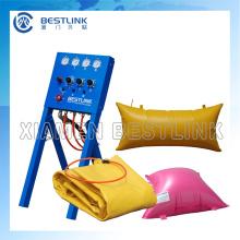 Bestlink alta calidad presionando la bolsa de aire para el bloque de mármol