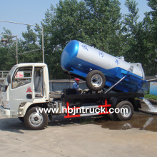 3000 Liters Small Sewer Cleaning Truck