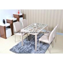 Дешевые новый современный дизайн высокого качества обеденный стол