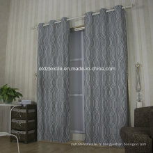 Rideau de fenêtre peint en tissu populaire européen