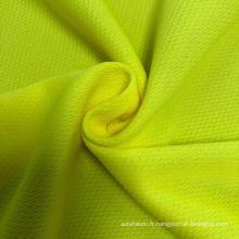 Tissu de maille de polyester d'oeil d'oiseau de bonne qualité