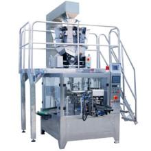 Máquina automática de empaquetado de bolsas giratorias para partículas grandes