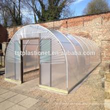 Película plástica tejida protección 100% del invernadero del HDPE agrícola del HDPE, cubiertas plásticas anti de la huerta de la lluvia del ascid