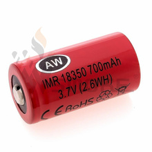 Aw18350 (700mAh/15A) High Drain Battery