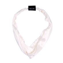 Wholesale satin silk headband high quality designer silk headband sacrf