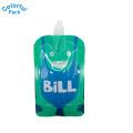 bolsa de pé líquida com bico / bolsa de água potável / bolsa doy pack com bico