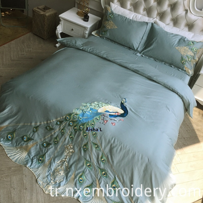 Hand Embroidered Bedding
