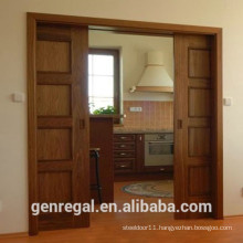 Natural interior sliding door