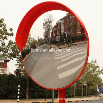 Miroir convexe de trafic extérieur en plastique de 60cm 24inch