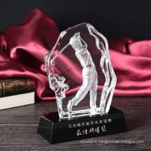 Iceberg K9 Crystal Trophy for Golf