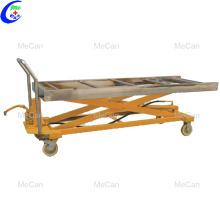 Carro de transporte del equipo mortuorio de la morgue Trolley