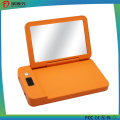 4000 mAh Portable Power Bank Charger with LED Light Mirror