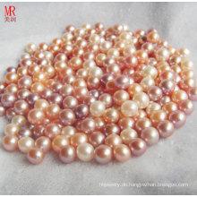 8-9mm gemischte Farbe runde kultivierte lose Perlen