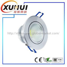recessed version 5w COB led downlight die-casting led downlight