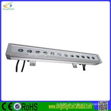 12 * 3w 3in1 RGB Farbe ip65 lineare Wand Waschmaschine geführtes Licht