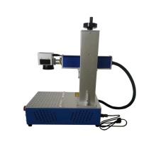 Máquina de marcação a laser de fibra de marcação de madeira