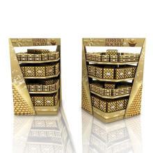 Werbe-Karton-Display-Racks für Schokolade, POS-Display-Palette