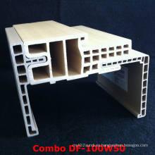 Popular y durable marco de puerta WPC Df-100W50WPC Architrave
