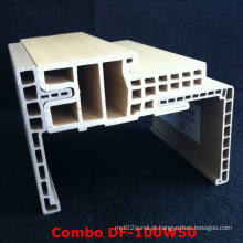 Architrave popular e durável da armação de porta Df-100W50WPC