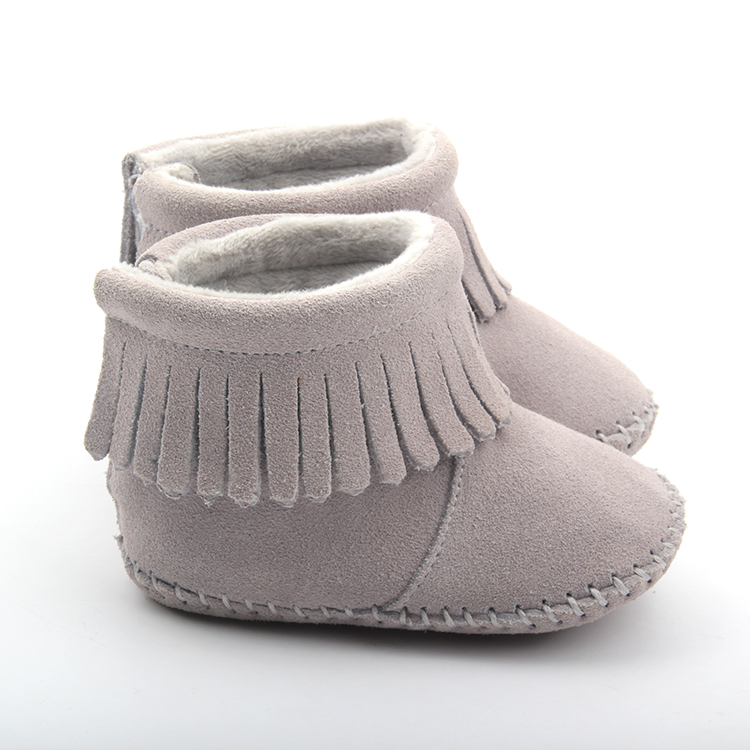 Wholesale Leather Baby Boots