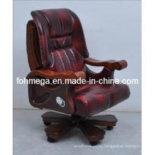 Cuero genuino silla de la conferencia móvil para Boss, Presidente, CEO Foh-1311