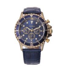 Reloj impermeable de alta calidad para hombres con regalo de aleación