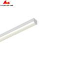 Luz conduzida linear do suporte do tubo do diodo emissor de luz da luz 50W da tampa leitosa com approvevd do CE Rohs do refletor