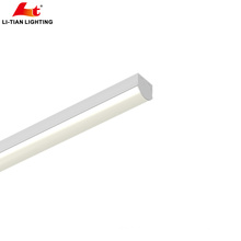 Kommerzielle IP44 Linkable Dimmable LED Anhänger Lineare Leuchte LED Wrap Lights 4ft 5ft 40w 50w 60w