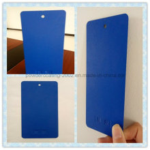Blue Frosted Grain Thermsoet Powder Coating