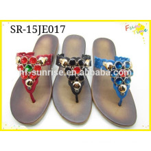 2015 new styles ladies PVC slipper shoes