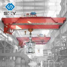 Grúa de fundición de doble haz YZ Spole de 100 toneladas