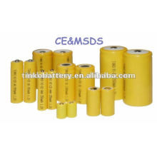 NI-CD rechargeable battery(size c 1.2v 2500mah )