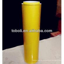 Empaquetado de película de PVC transparente para envolver alimentos