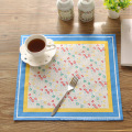oblong dinner placemat / lovely dinner pads / new classical design fabric table eat mat