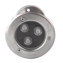Hohe Qualität 3W LED Inground Light mit 2 Jahren Garantie