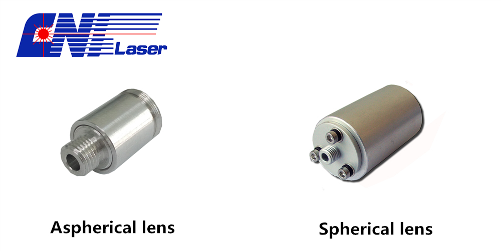 Aspherical lens and Spherical lens fiber collimitor
