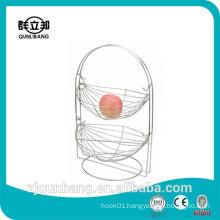Handle two-story cradle ,fruit basket