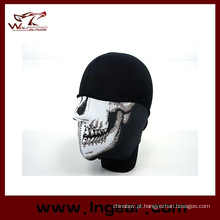 Bandana caveira meia Face máscara protetor Paintball motociclista