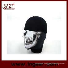 Бандана черепа половина лица маска защитник пейнтбол байкер