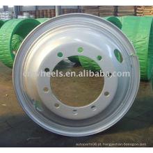 Roda do caminhão do Oem, aro durável da roda do tubo 24x8.5