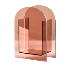 Dekorative Acrylvase Pink