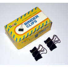 15mm Black Binder Clips (1006)