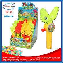 Chenghai Plastic Plier Toy con tubo de caramelo dulce