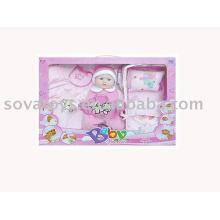906990502 boneca engraçada e bonita, boneca de brinquedo eletrônico, B / O boneca de 18 polegadas