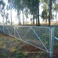 Estándar australiano 12 'n Brace Mesh Farm Stay Gate con bisagras