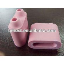 Ceramic polishing beads