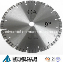 "9"" Diamond Cutting Saw Blade for Concrete, Dry Cut"