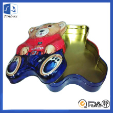 Pretty Cute Bear Shape Metal Gift Boxes